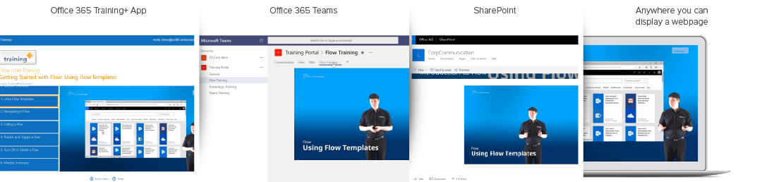 Office 365 Training+ in 3 simple steps