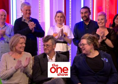 Steve Smith appeared on the BBC's One Show in support of the Pink Ribbon Foundation (May 2019)